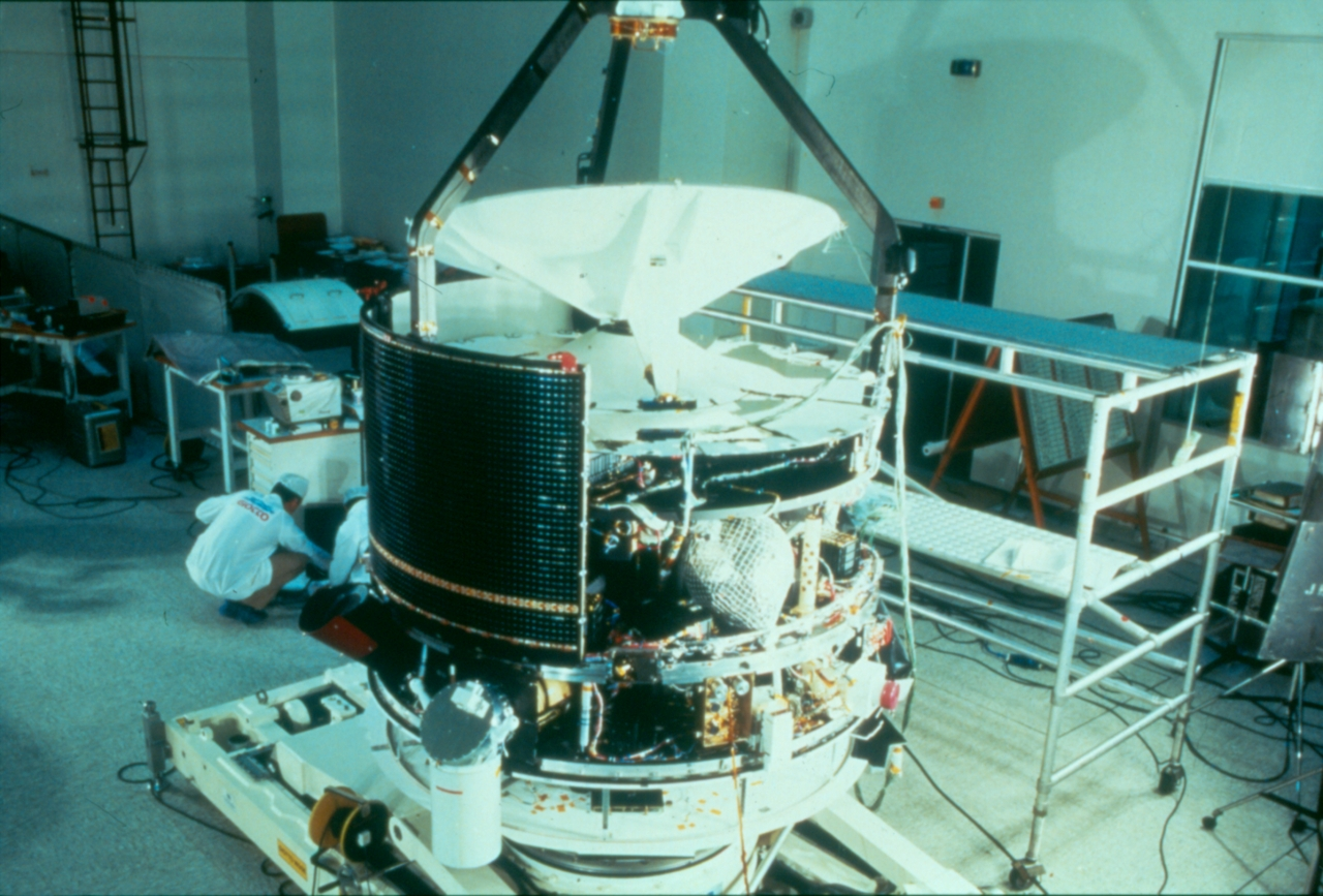 Esa Science Amp Technology Giotto Spacecraft In Build