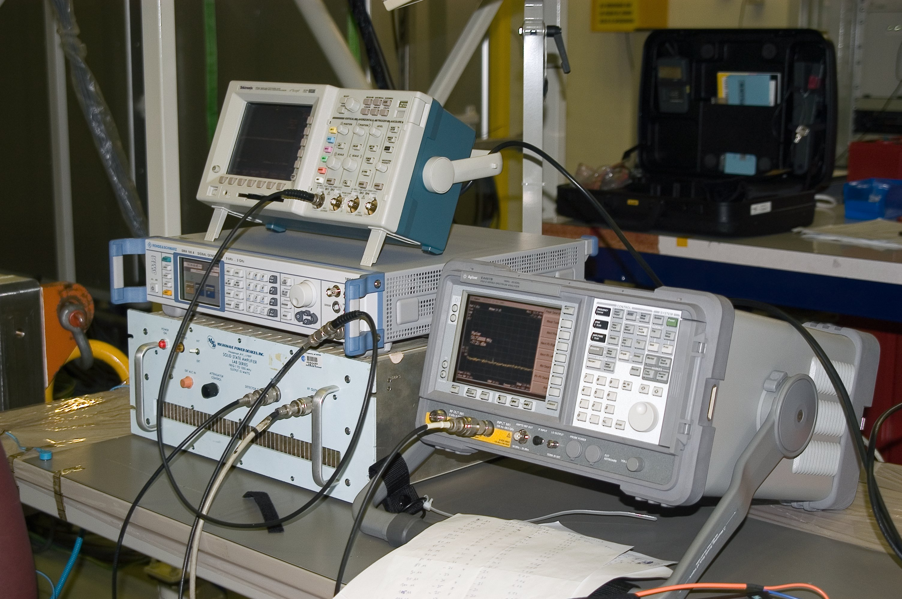 Esa Science Amp Technology Test Equipment For Emc Test