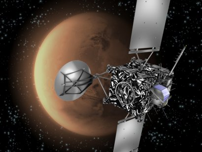 ESA Science & Technology: Rosetta Mars Swing-by