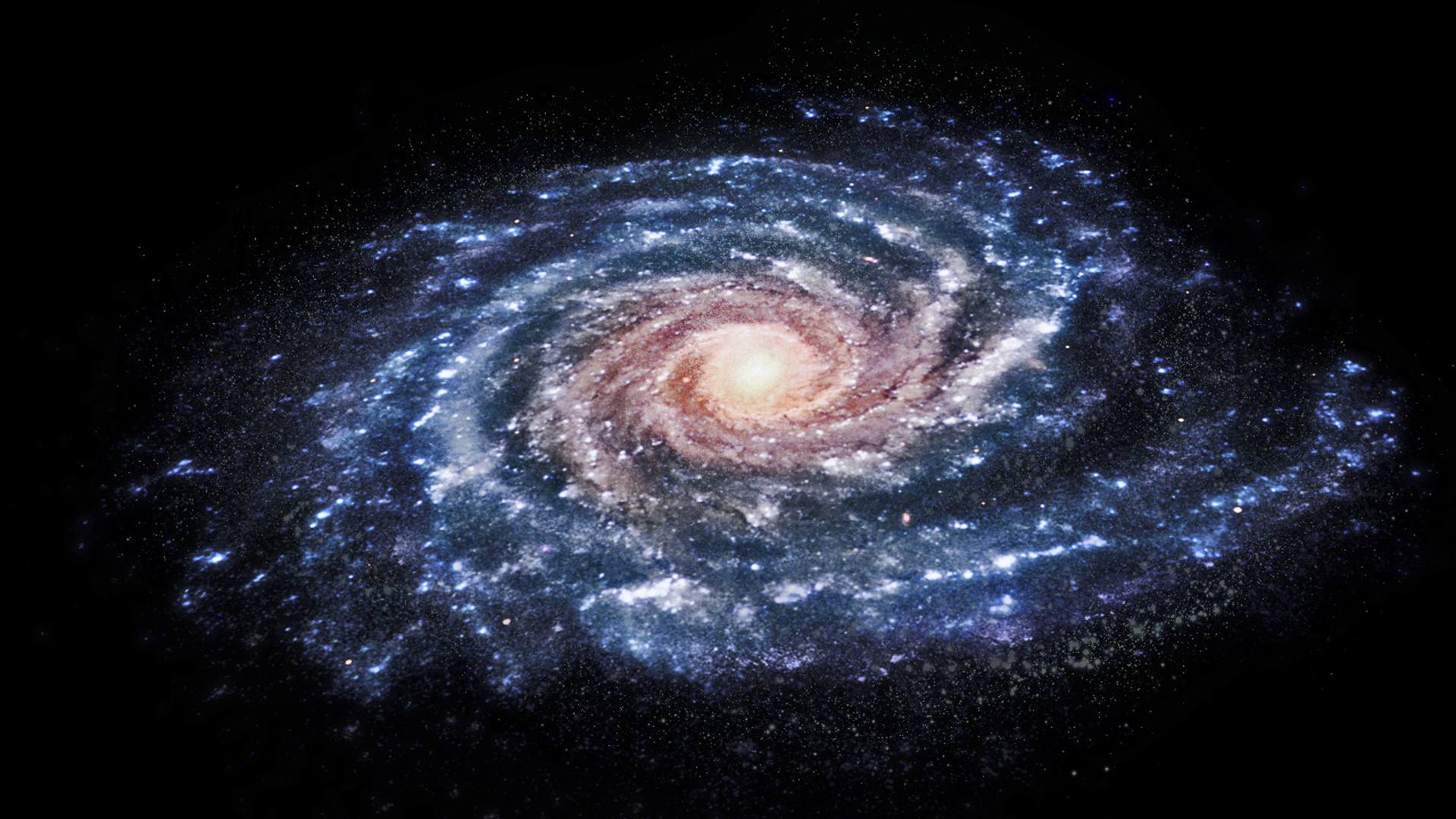 Esa Science Amp Technology Artist S Impression Of Our Galaxy